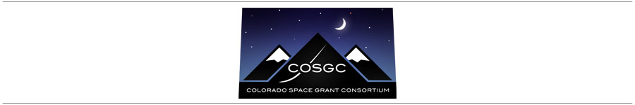 NASA's Colorado Space Grant Consortium Presents:  The Robotics Challenge logo