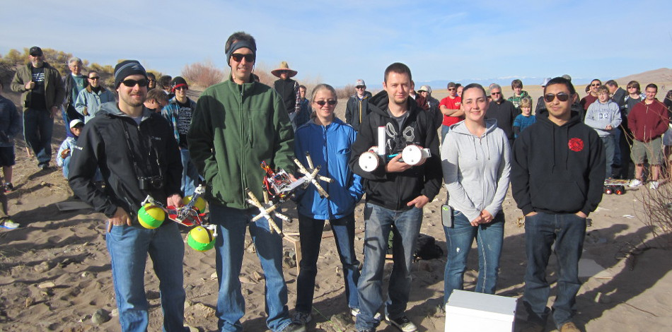 COSGC Robotics Challenge at the Great Sand Dunes National Park