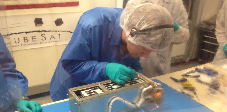 ALL-STAR Student built 3U CubeSat at delivery